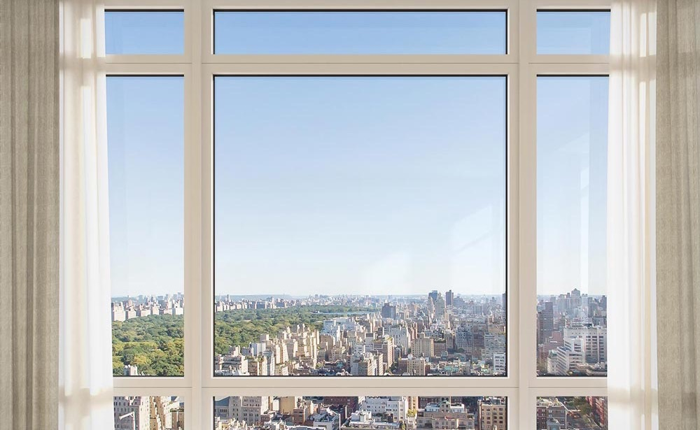 View From The 54 Story Limestone Condo On The Upper East Side